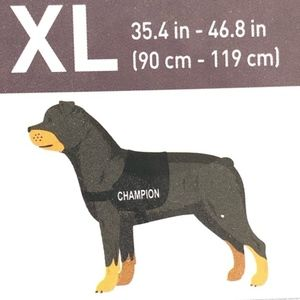 Zoofari Dog Harness with 4 labels, XL